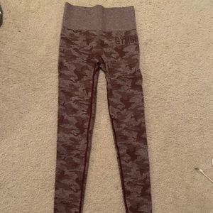 BRAND NEW Gymshark Camo Seamless Leggings